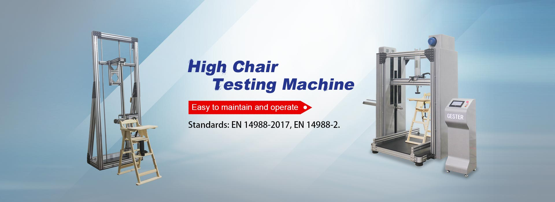 High Chair Testing Machine